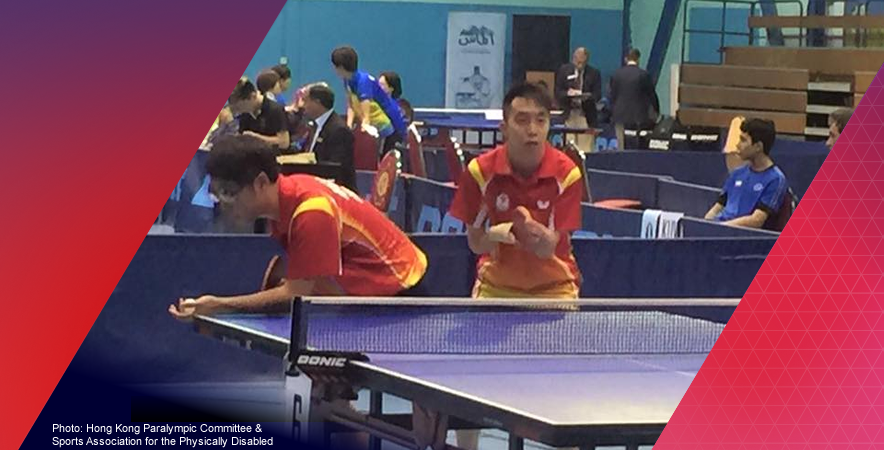 The Hong Kong Table Tennis Team (HKPC&SAPD) clinched 1 silver and 2 bronze medals at 2015 ITTF PTT Asian Championships
