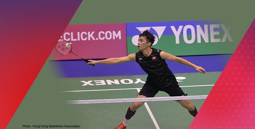 Hong Kong badminton home player Ng Ka-long firstly claimed the championship title in men's single at the Hong Kong Open Badminton Championships 2016.