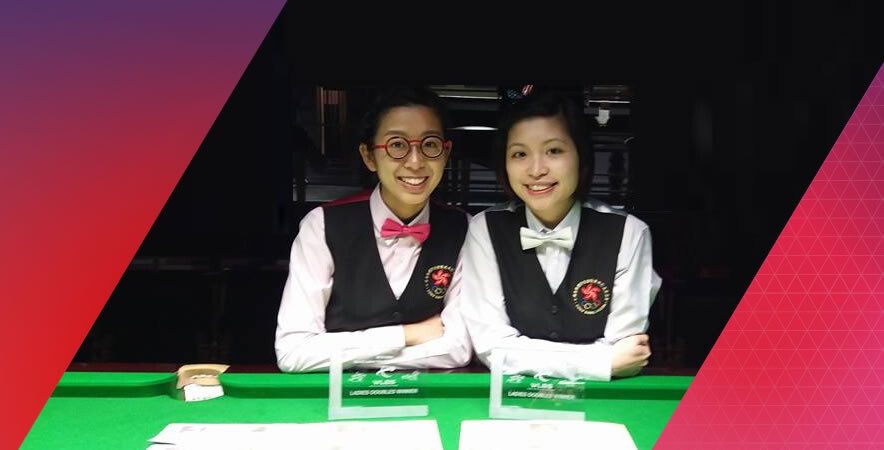 Hong Kong Billiards Pairs won 2 gold and 1 silver medals in Ladies/ Mixed Doubles and Ladies Single at 2016 WLBS World Championships respectively.