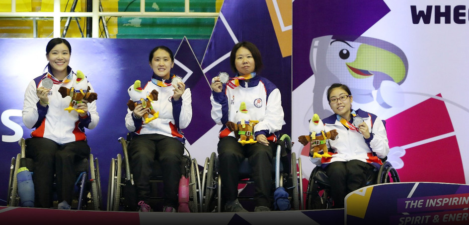 Yu Chui-yee, Fan Pui-shan, Justine Charissa Ng and Tong Nga-ting won a silver medal in the women's epee team event.