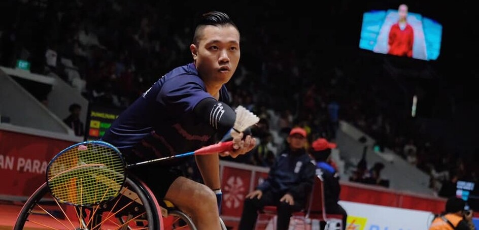 On the last day of competition, badminton athlete Chan Ho-yuen won the last medal for Hong Kong - a silver in the men's singles WH2.