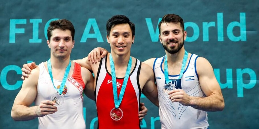 Shek Wai-hung Wins Two Golds at World Challenge Cup