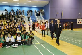 Visit of the Rio Olympic Games Mainland Olympians Delegation -