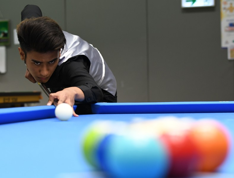 <p>Robbie Capito (Billiard Sports) (Photo: Hong Kong Billiard Sports Control Council)</p>