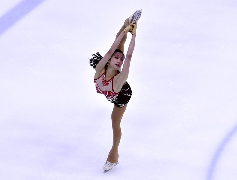 <p>Chow Hiu-yau (Skating) (Photo: Hong Kong Skating Union)</p>