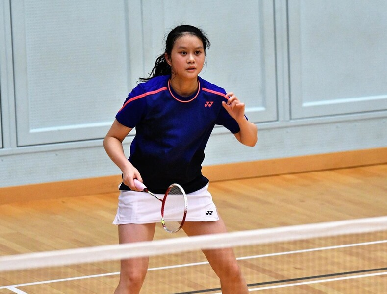 <p>Cheng Sin-yan (Badminton) (Photo: Hong Kong Badminton Association)</p>