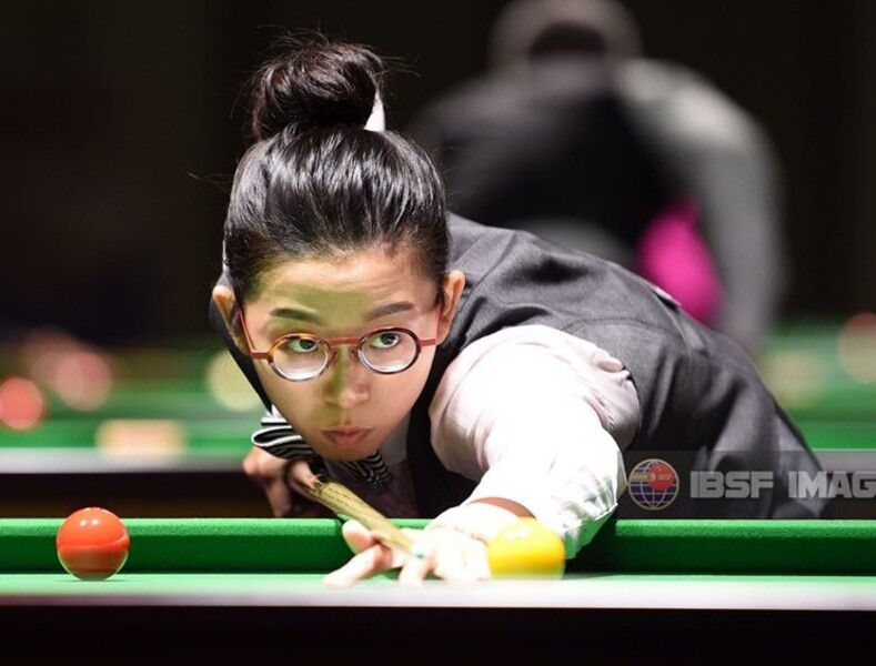 吳安儀(圖片來源:International Billiards & Snooker