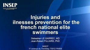Injuries Prevention for the French National Swimmers [ Part 1 ]
