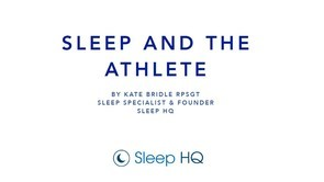 The Importance of Sleep in Athletes [ Part 1 ]